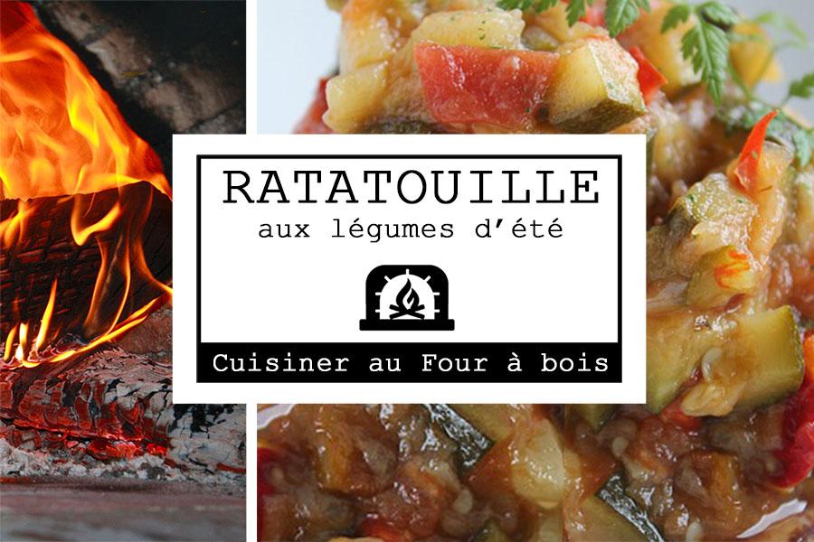Vignette recette Ratatouille aux légumes d'été au four à bois