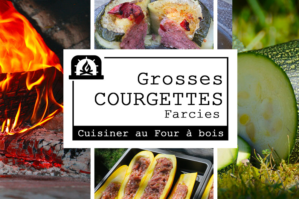 Grosses courgettes farcies